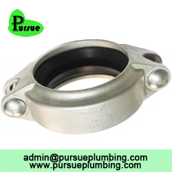 Stainless steel groove pipe coupling