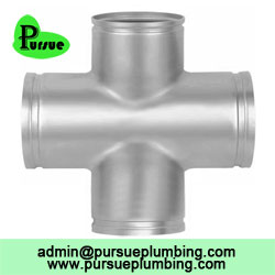 grooved cross pipe fitting supplier